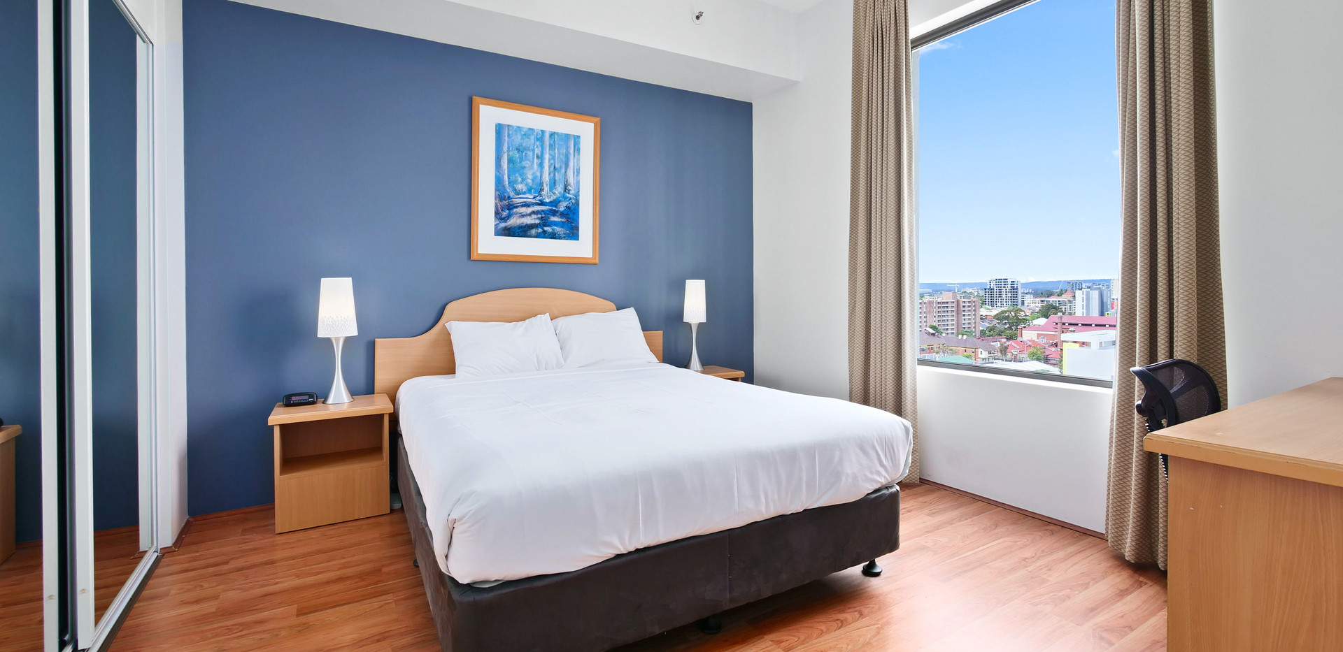 5. Main Bedroom - Two Bedroom Penthouse