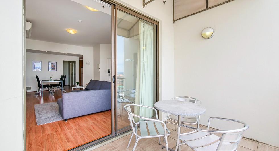 Balcony Lounge - Two Bedroom Deluxe