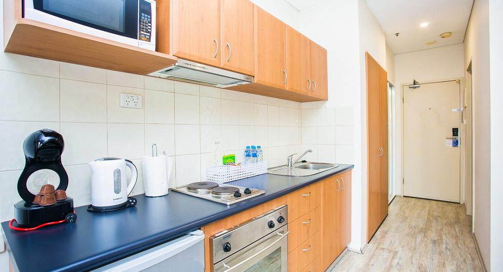7. Kitchenette Standard Studio Apartment