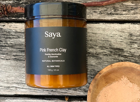Pink French Clay Mask