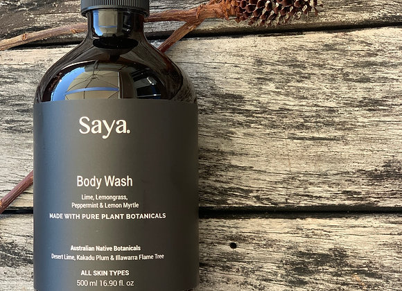 Lime & Lemongrass Body Wash
