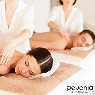 couple having body massage