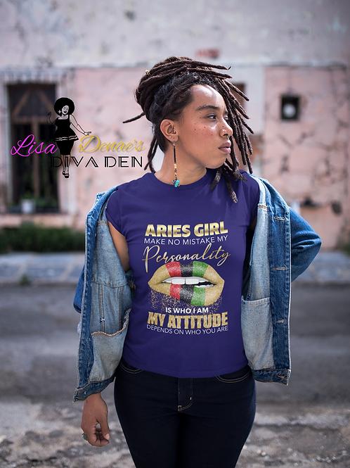 """Aries """"Attitude"""" Tee"""