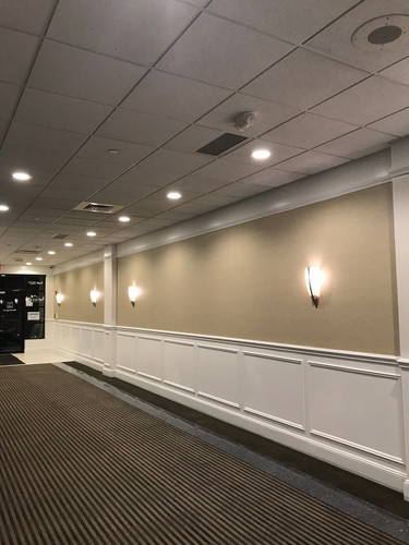 Messina Painting, Commercial Wallcovering