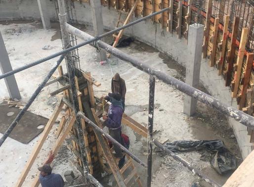 AVANZA CONSTRUCCIÓN EN PILA DE ALMACENAMIENTO CON COLADO DEL SEGUNDO ANILLO