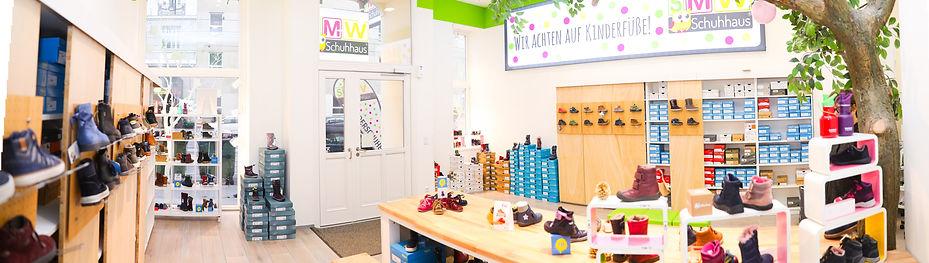 Das SMW-Schuhhaus in der Währinger Straße 26 hat eine große Auswahl an Lauflern- und Kinderschuhen bis Größe 40 und bietet Ihnen fachkundige, persönliche Beratung an. © SMW-Schuhhaus