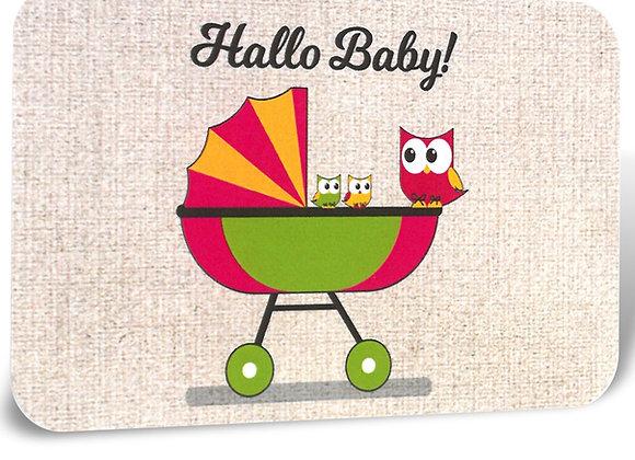 SMW Gutscheinkarte Motiv Hello Baby