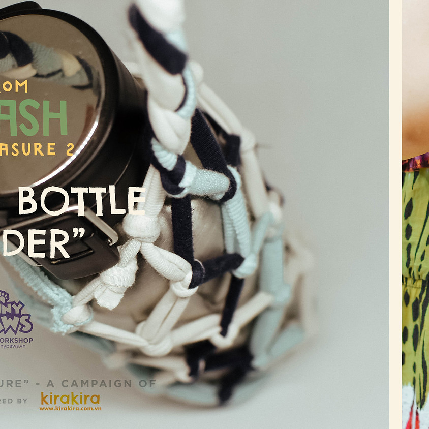 """[""""FROM TRASH TO TREASURE"""" CAMPAIGN] – MAKING CUP-HOLDERS FROM OLD CLOTHING"""