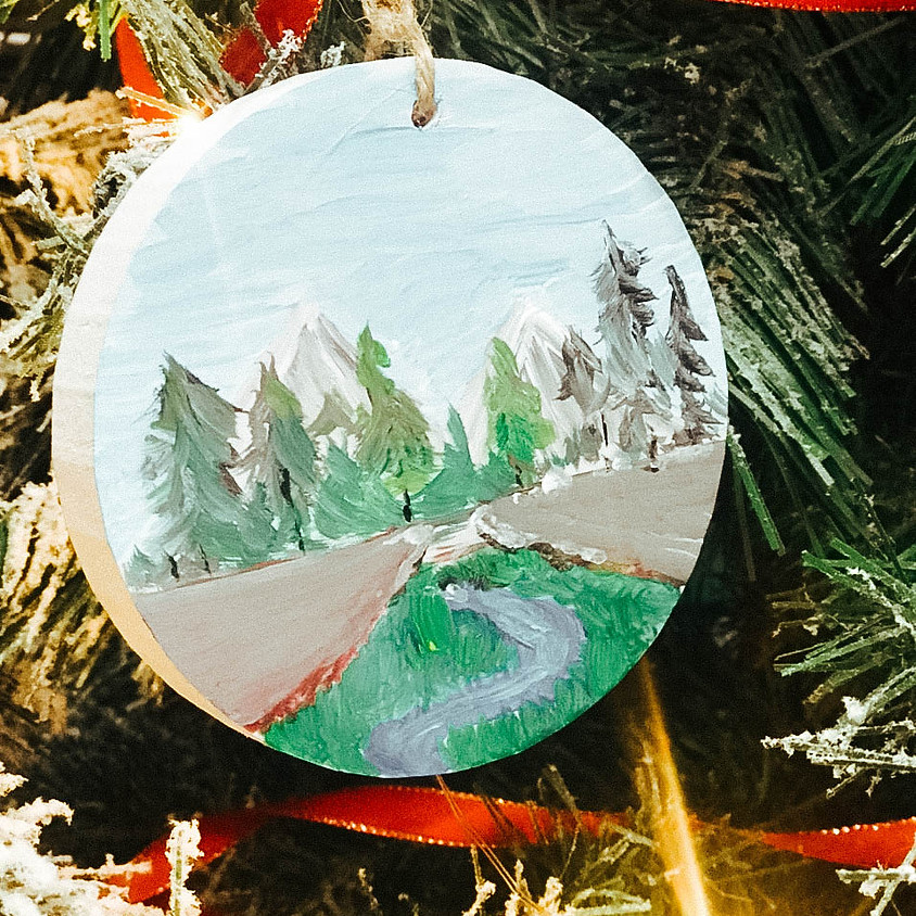 ART PROJECTS: THANK YOU WREATH AND ORNAMENT