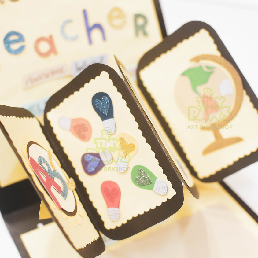 ART PROJECTS: CARD FOR TEACHER DAY