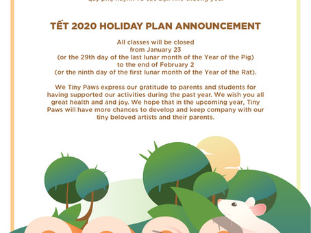 2020 HOLIDAY PLAN ANNOUNCEMENT