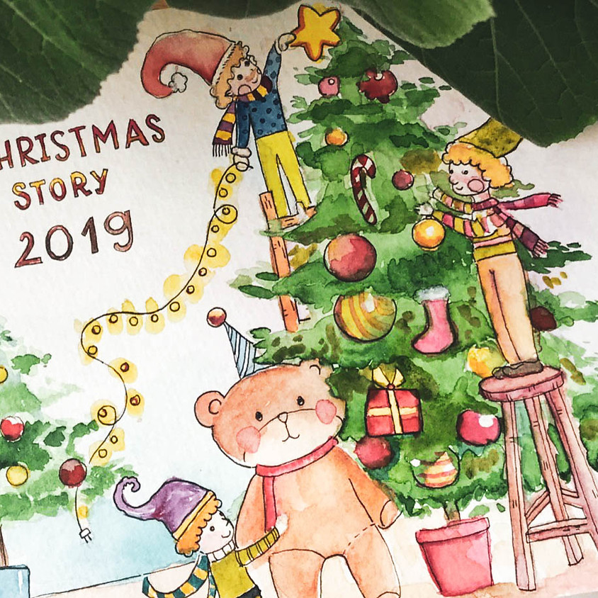 ART PROJECTS: CHRISTMAS STORY