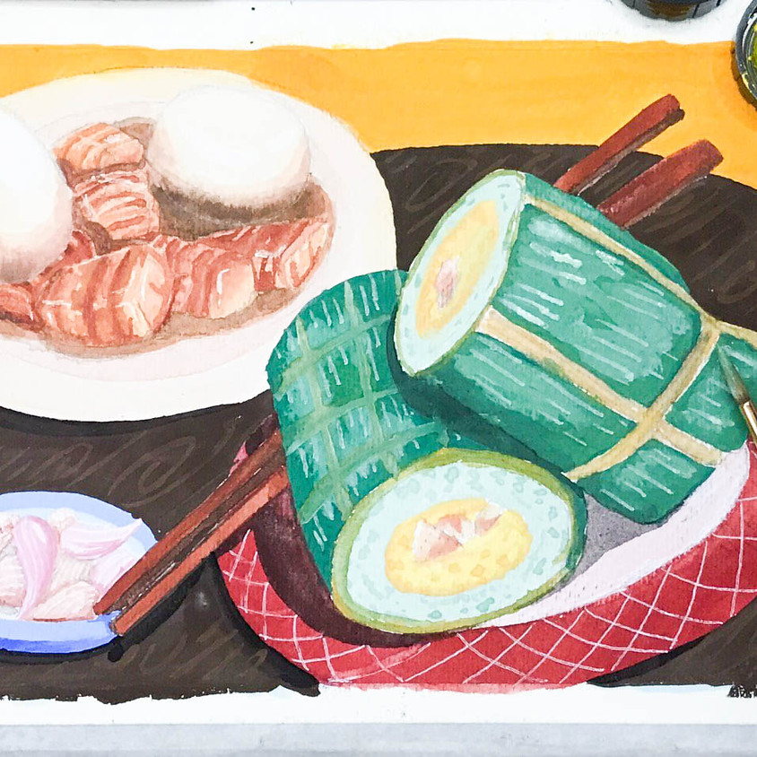 ART PROJECTS: NEW YEAR MEAL