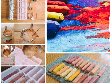 [DIY] How to recycle Oil Pastels and Crayons