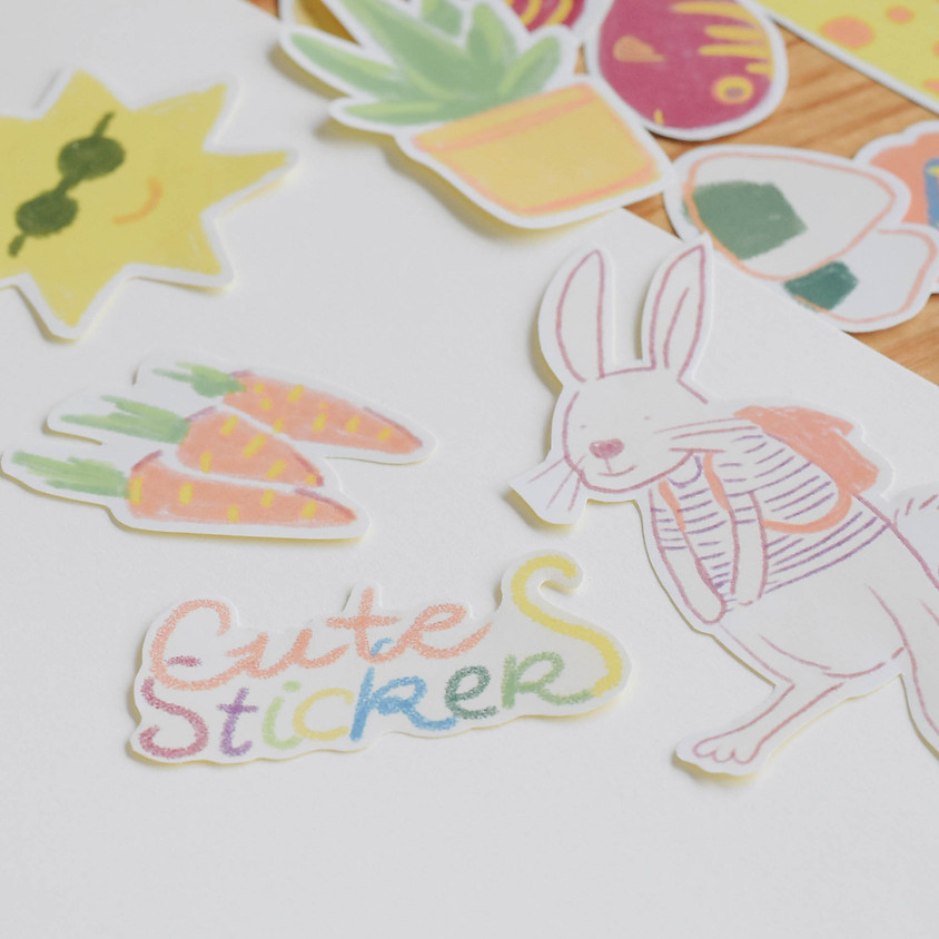 DIY STICKERS - MARKERS