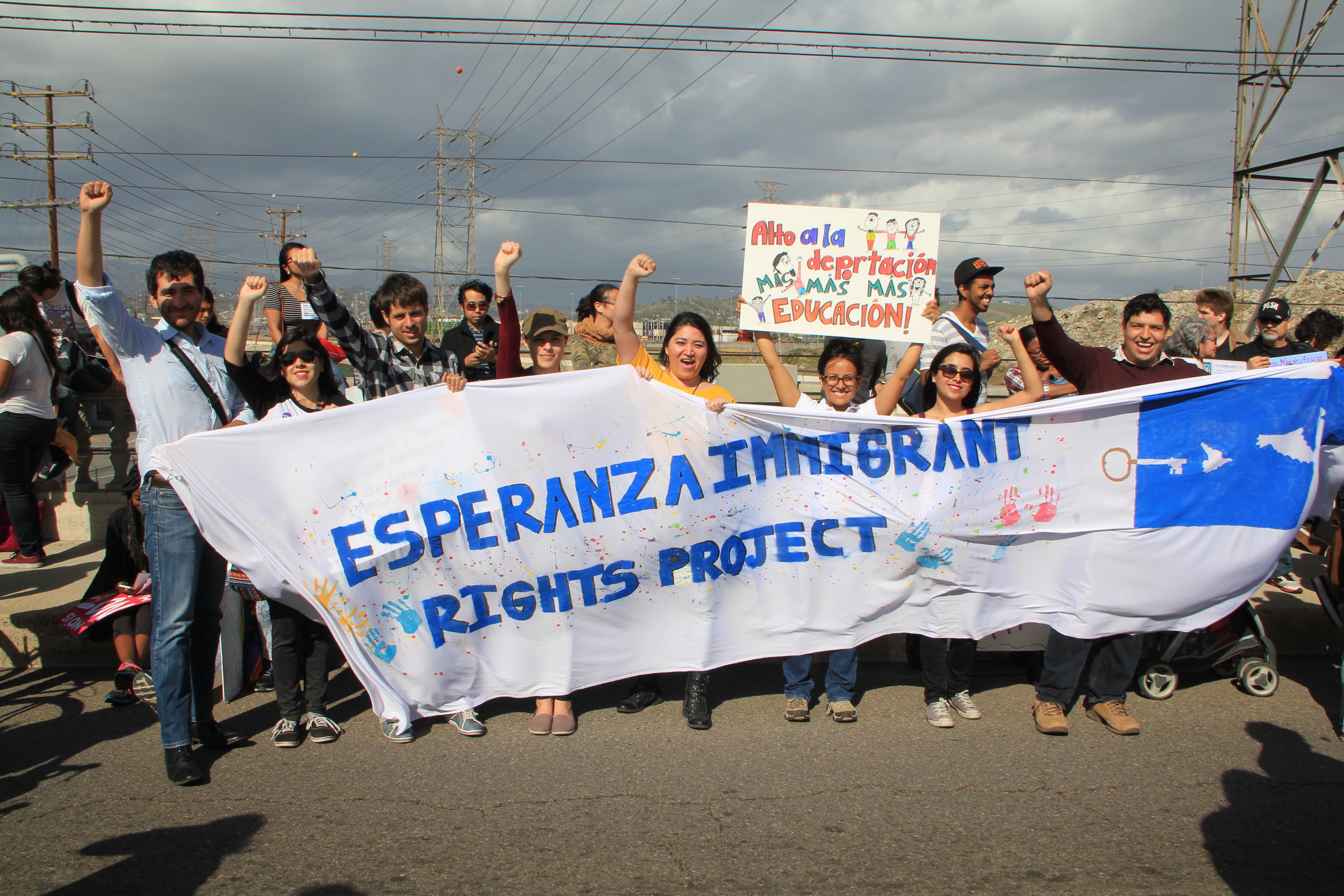 Esperanza Immigrant Rights Project Los Angeles