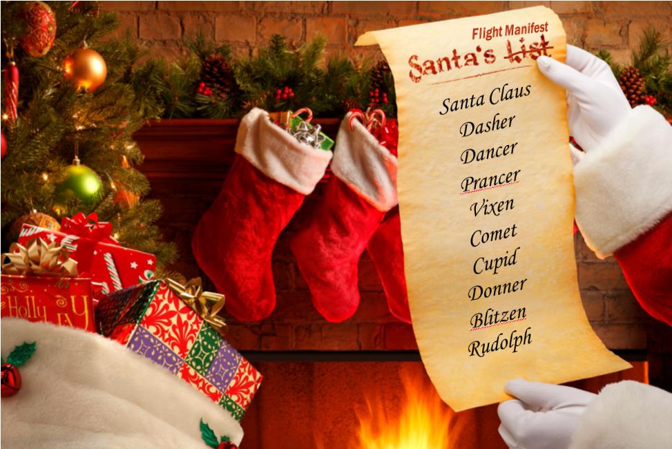 Santa's Flight Manifest