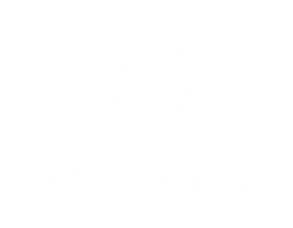 Port Angeles Chamber Logo Full Vertical