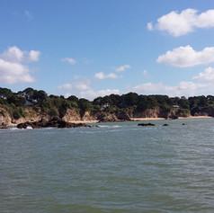 La côte sauvage de Saint-Nazaire