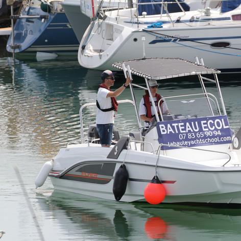 Manoeuvres au port, un moment important de votre formation