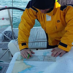 Lecture des cartes marines