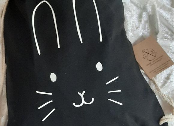 Childrens Bunny Face Gym Bag