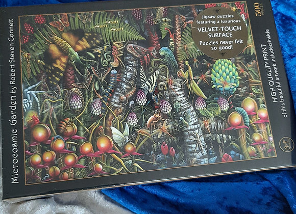 Microcosmic Garden 500 piece Jigsaw