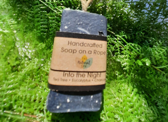 Into the Night Cold Process Soap On A Rope 100g
