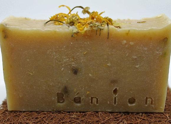 Goats Milk & Chamomile Cold Process Soap