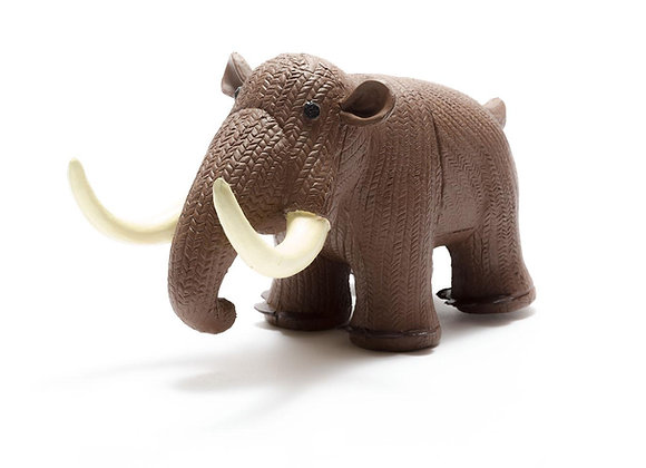 My First Natural Rubber Mammoth Teether and Bath Toy