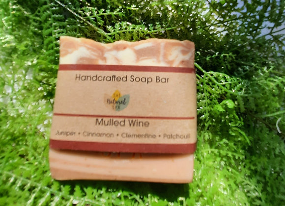 Mulled Wine Cold Process Soap Bar 100g