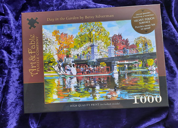 Day In The Garden 1000 Piece Jigsaw Puzzle