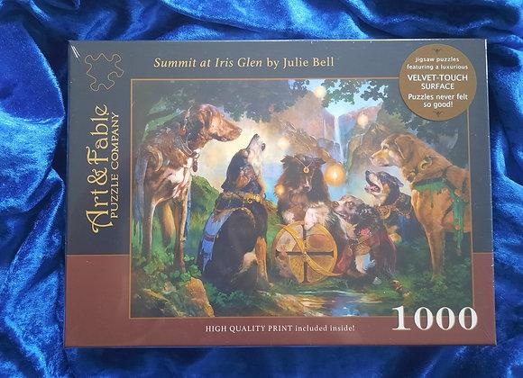 Summit At Iris Glen 1000 Piece Jigsaw Puzzle