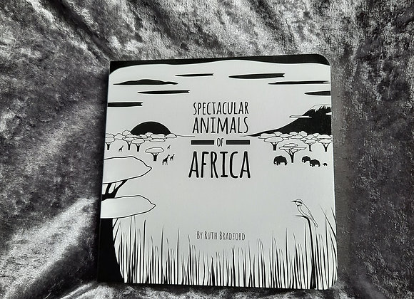 African Animals Baby Board Book