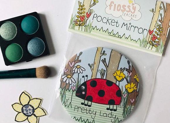 Ladybird Pocket Mirror