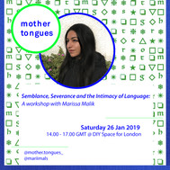 mother tongues workshop