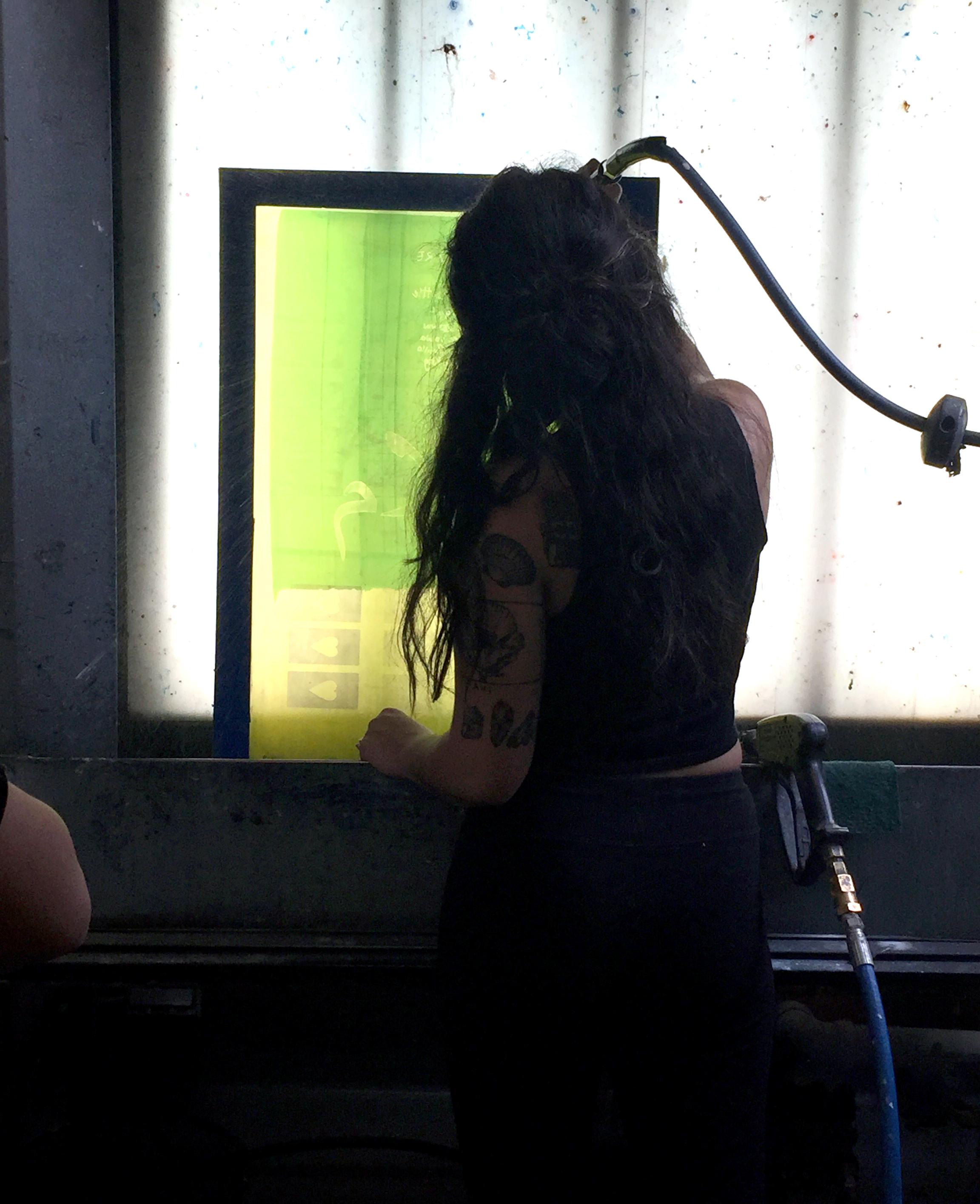 Screen Washing