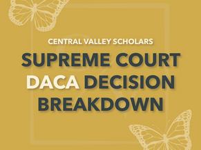 Supreme Court DACA Decision Breakdown