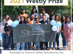 Central Valley Scholars Wins The Westly Prize