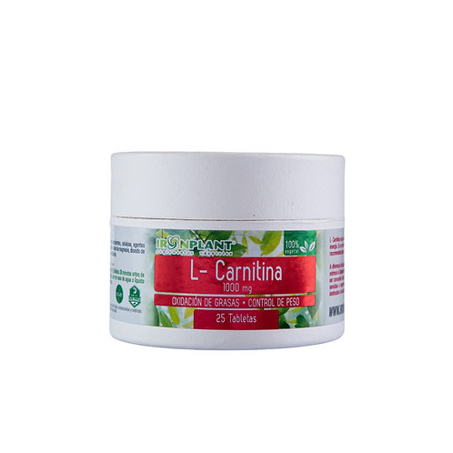 L-Carnitina 25/1000mg Frasco ecológico