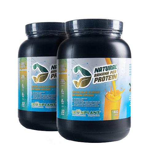 Proteína de Arveja Banana 2 kilos
