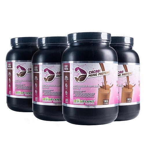 Proteína de Poroto Mung con Cacao 4 Kilos