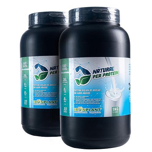 Proteína Aislada de Arveja Natural 2 kg (sin sabor)