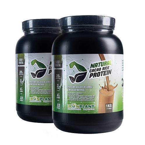Proteína de Arroz con Cacao Orgánico 2 kilos