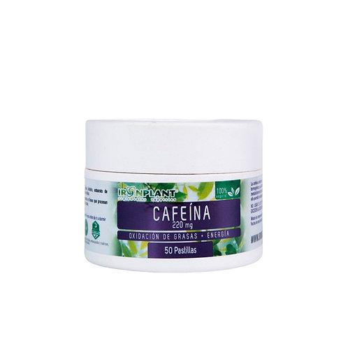 Cafeína en pastillas 50/220mg Frasco ecológico