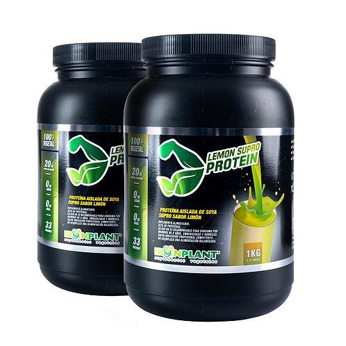 Proteína de Soya Supro Limón 2 kilos