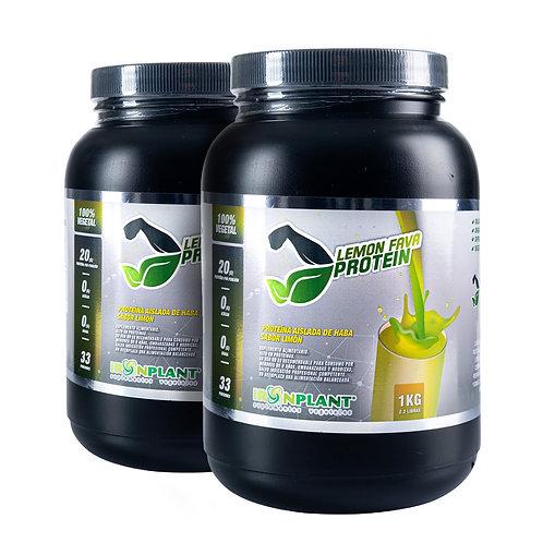 Proteína de Haba Limón 2 kilos