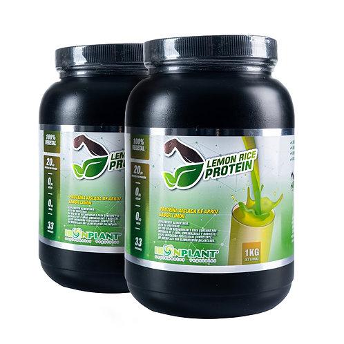 Proteína de Arroz Limón 2 Kilos