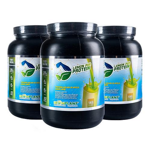 Proteína de Arveja Limón 3 Kilos