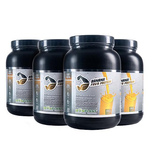Proteína de Haba Banana 4 kg